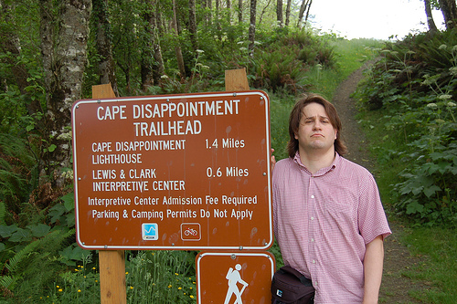 """""""Cape Disappointment is Disappointing"""" by iotae (2006), shared under a Creative Commons Attribution License"""